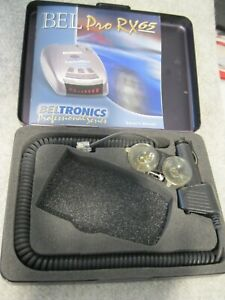BELTRPNICS PRO RX65 METAL CASE, MANUAL, WINDSHIELD MOUNT AND SMART CORD
