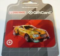 TARGET Gift Card Lenticular TRANSFORMERS Bumblebee - No Value - I Combine Ship