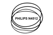SET CINGHIE PHILIPS N 4512 REGISTRATORE A BOBINE EXTRA FORTE NUOVE FRESCHE N4512