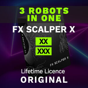 Fx Scalper X 3 BOTs Bundle High accuracy Fully Automated MT4 Trading Robot
