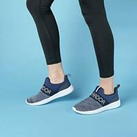 Women's Athletic Walking Running Shoes SlipOn Casual Comfort Sneakers Navy Blue