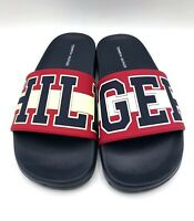 Tommy Hilfiger Destyn Womens Slides Sandals Red/White/Blue Slides Size 6
