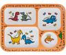 Enfants Sections Assiette - Sectionné Plaque - Dinosaure Licorne