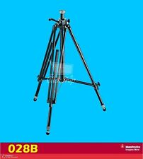 Manfrotto 028B Triman Camera Tripod with Geared Center Column Load Capacity 12kg