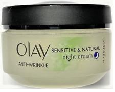 Olay Anti-Wrinkle Sensitive & Natural Night Cream, 1.7 oz