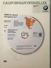 BMW 3 / 5 / 7 Series Navigation DVD # 843 WEST U.S Canada Map Edition © 2010