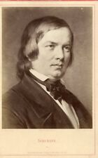 SCHUMANN (1810 - 1856) - Fr.Bruckmann's - Carte CABINET - albumen print.