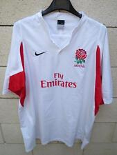 Maillot rugby à 7 ANGLETERRE shirt Nike ENGLAND sevens Fly Emirates XL