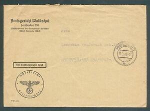 Old German WWII orig. Letter 6. Mai 1940 SONDERGERICHT Mannheim RARE