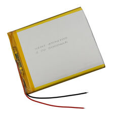 3.7V 5000 mAh Rechargeable Polymer Li ion Lipo battery for GPS Tablet PC 4594105