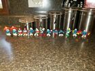 Vintage Lot of 13 Peyo Schleich Late 1970's/Early 1980's Smurf PVC Toy Figurines