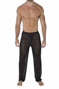 CandyMan 99496 Mesh Lounge Pants Color Black