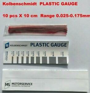 Rod Main Bearing Plastic Gauge Clearance strips Flexigauge Plastigage 50009880KS