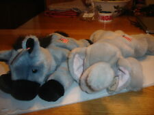 TY RETIRED  BEANIE   BUDDIES X2    LEFTY AND RIGHTY