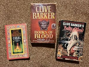 Cabal + Books Of Blood Omnibus 1 & 2: Volumes 1-6 by Clive Barker