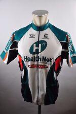 Cannondale Health Net Radtrikot cycling jersey Trikot maglia Gr. L 56cm DF1