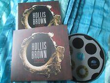 HOLLIS BROWN 3 Shots BLUDP0662 Blue Rose Records Stickered CD Album