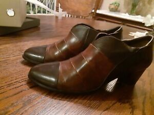 Spring Step HaHan-Shootie / Shoes Eur Size 38, US Size 7-71/2, Chocolate Leather