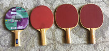Martin Kilpatrick Table Tennis Racket (new)+ 3 Used Rackets Ping Pong Lot Of 4