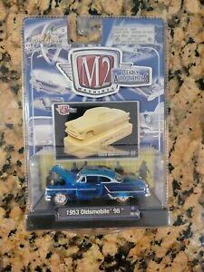 2008 M2 Machines Clearly Auto-Thentics:  Blue 1953 Oldsmobile 98 NIP