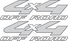 2008-2010 Vinylmark 4x4 Off Road Decals for Ford (F-250, F-350) Super Duty GREY