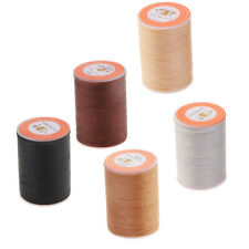 5Pcs Waxed Thread Repair Cord String Sewing Leather Hand Wax Stitching Craft