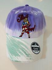 Black Keys Thirst Trap Dad Hat Strap Back Cap Purple/Green