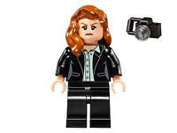 LEGO Super Heroes: Batman/Superman  - Lois Lane Minifigure (Set 76046) NEW D14