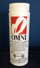Omni swimming pool sanitizer Swim Clear granules 2.2lb bottle