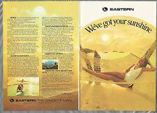 1976 EASTERN AIR LINES 8-page booklet, winter getaways Florida Caribbean Disney