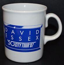 More details for original vintage david essex 50 city tour 87 1987 mug tea coffee retro music