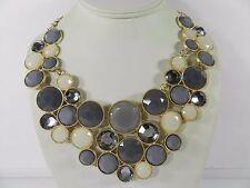 INC International Concepts Multi-Stone Bib Necklace