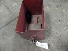 International Harvester M battery box  Tag #4620