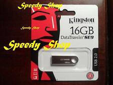 PENDRIVE USB 2.0 16GB CHIAVETTA PENNA 16 GB CHIAVE KINGSTON MEMORIA DTSE9H/16GB