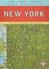 Knopf MapGuide: New York (Knopf Mapguides)-ExLibrary