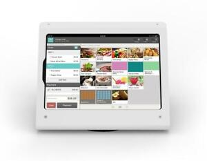 armourdog® secure tablet PoS kiosk with rotating base for iPad Pro 11 in white