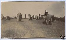 Bretagne. Morbihan.St-Pierre Quiberon.  Dolmens du moulin à vent.  photo de 1918