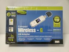 NEW Linksys WUSB54GC 2.4 GHz 54 Mbps Compact Wireless-G USB Wifi Network Adapter