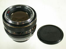 Canon FD SSC S.S.C. al, 1,2/55 55 55mm f1, 2 CROMO CHROME Anello Aspherical Type 1