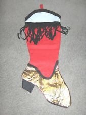 #914 - CHRISTMAS STOCKING - VERY LARGE COWBOY, COWGIRL BOOT!