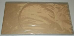 Stampin Up Retired NATURAL FILTER PAPER 12 Pieces Circle Rectangle NEW