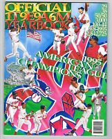 1996 Cleveland Indians MLB Baseball YEARBOOK