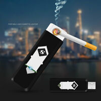 Rechargeable USB Flameless Eco-Friendly Portable Cigarette Lighter Windproof Lot