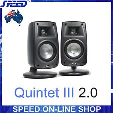 Klipsch Quintet III 2.0 Bookshelf or Surround Sound Speakers (pair) -12 mths WTY