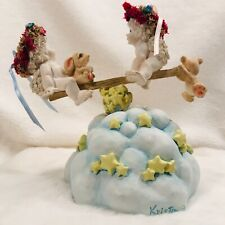 Dreamsicles Teeter Tots Over The Rainbow Music Box 1995 Cast Art*Works Great*