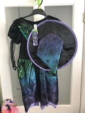 NEW Halloween Fancy Dress Up Outfit 7-8Yrs BNWT Witch Girls Clothing World Book