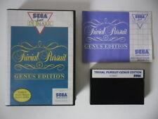 TRIVIAL PURSUIT GENUS EDITION - SEGA MASTER SYSTEM - COMPLET