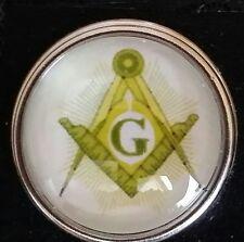Masonic Snap Button, style # 1, 18mm, USA Seller