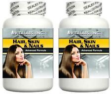 2 clavos de piel de pelo Pastillas uñas más fuertes Cabello Saludable Piel Joven Arrugas Líneas