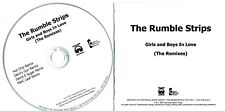 THE RUMBLE STRIPS - Girls And Boys In Love - (4 Track Promo CD) - HOT CHIP REMIX